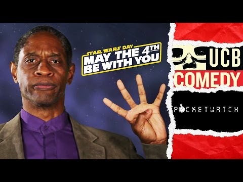 Star Trek s Tim Russ Explains Star Wars Day