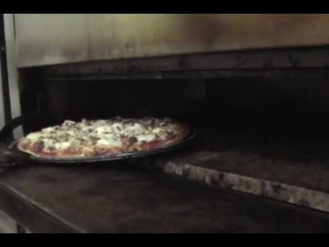 CW62 Pizza Deck Oven from Peerless at work at Catalfino's