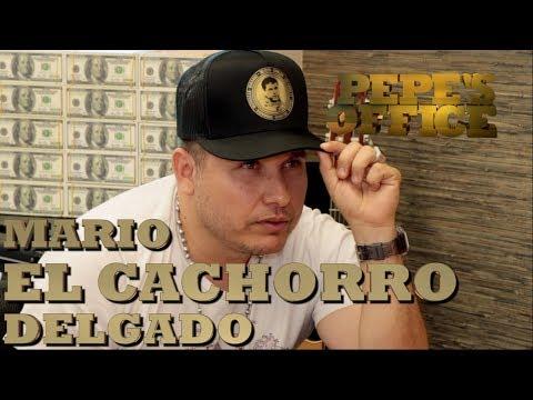 MARIO EL CACHORRO DELGADO Y SU EXPERIENCIA CON EL CORRIDO PA JOAQUIN - Pepe's Office - Thumbnail