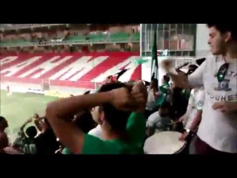 Alento da Barra UNA na partida America x Atletico-GO - Barra Una - América Mineiro