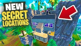 NEW SECRET Fortnite LOCATIONS in Season 4