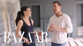 Video The Ultimate Living Room Makeover | Design Girlfriend | Harper's BAZAAR MP3, 3GP, MP4, WEBM, AVI, FLV Oktober 2018