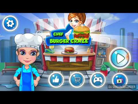 My Burger Craze Fast Food Cooking Game For Kids