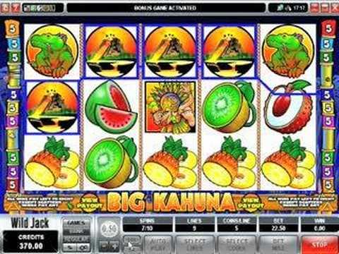SharpGambler.com - Big Kahuna Slot Review