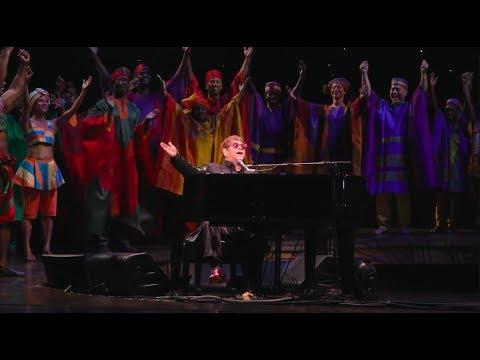 Elton John's Surprise Performance at THE LION KING 20th Anniversary