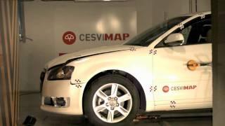 Crash test delantero Audi A3