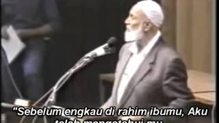 Ahmed Deedat - Before Abraham Was, I Am (sebelum Abraham Jadi, Aku Telah Ada) -Teks Indonesia