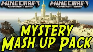 Minecraft (PS3, PS4, Xbox) - Mash Up Pack Never Released! Mystery Texture Pack
