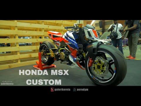 Custom Modified Honda MSX