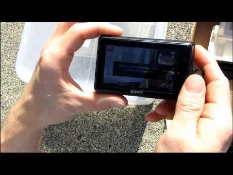 Sony Cybershot DSC-TX5 Waterproof 720p Compact Camera Unboxing & First Look Linus Tech Tips