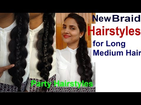 CUTE & EASY New Braid Hairstyles, Most Beautiful Braid Hairstyles  2018, How To Braid For Own Hair