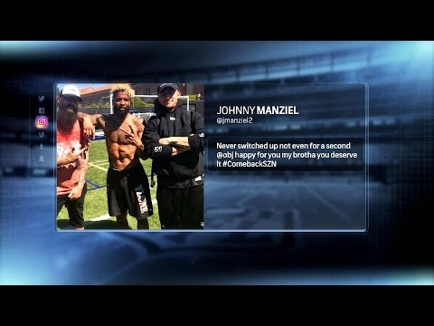 Video: Best of PFT: Odell Beckham Jr hangs out with Johnny Manziel