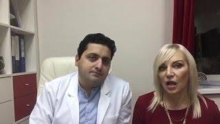 Елена Санжаровская: отзыв о ринопластике в клинике пластического хирурга Арама Акопова
