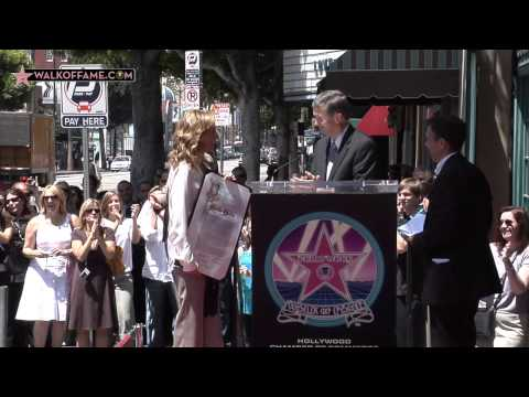 Marlee Matlin Walk of Fame Ceremony