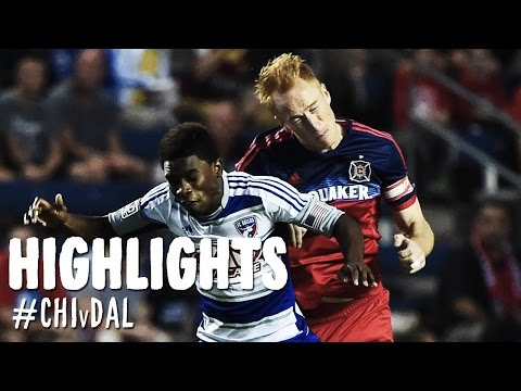 chicago - The battle for the Brimstone Cup was enjoined again as the Chicago Fire played host to FC Dallas on Saturday evening at Toyota Park. Subscribe to our channel for more soccer content: http://www.yo...