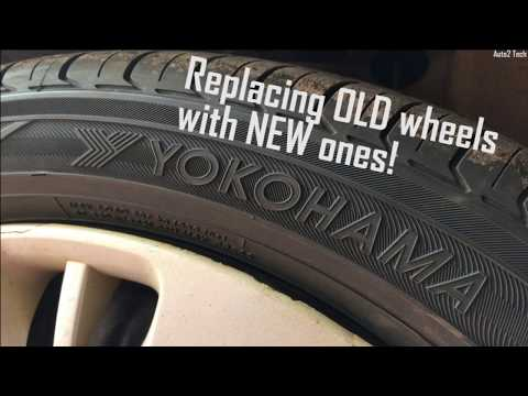 REPLACING CAR TYRES  | YOKOHAMA INDIA | EARTH 1 | MARUTI SUZUKI ESTILO