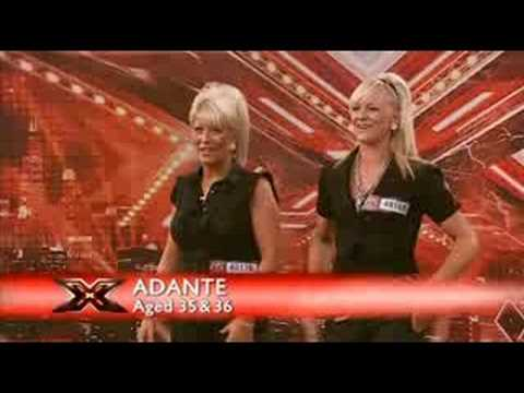 Adande - x factor 2008 adande adution.