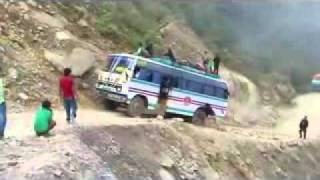 Benighat Nepal  city photo : Dangerous Road in Nepal (MastiNepal)