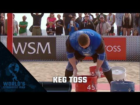 2014 World's Strongest Man | Keg Toss