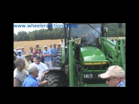 JD 7210 Tractor Sold for $83,000 on Missouri Farm Auction 5/28/12