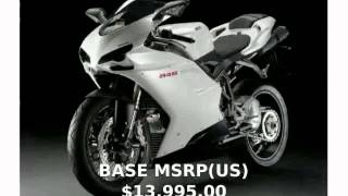 9. 2009 Ducati 848 Base  Transmission Features Engine motorbike Dealers superbike Specification