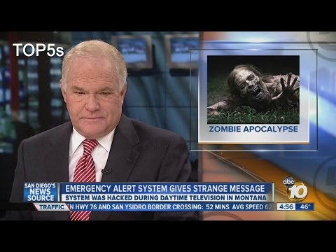 Spooky! 5 strange broadcast interruptions!