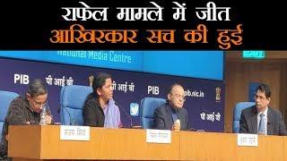 सरकार ने कहा राफेल मामले पर राहुल ने झूठे आरोप गढ़कर देश की सुरक्षा को जोखिम में डाला