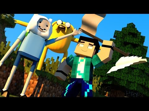Minecraft Mods - MORPH HIDE AND SEEK - HORA DE AVENTURA! (Adventure Time MOD)