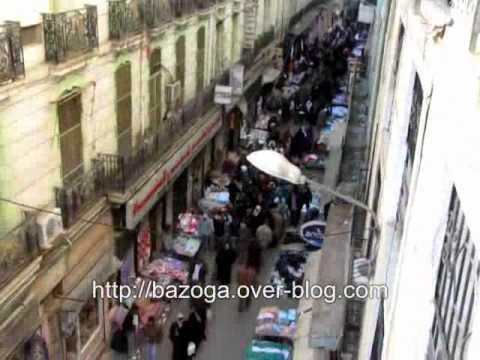 Constantine-Rue de France : un véritable souk