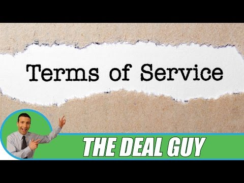 👮 Terms of Service ◄ The BEST & WORST for your protection!