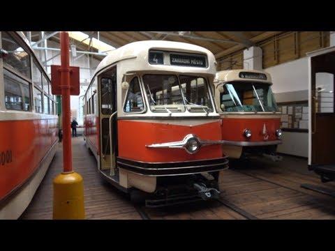 Muzeum městské hromadné dopravy Praha   Museum of Public Transport Prague