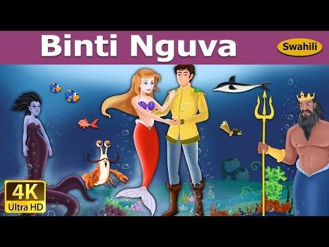 Binti Nguva   Hadithi za Kiswahili   Katuni za Kiswahili   Hadithi za Watoto   Swahili Fairy Tales