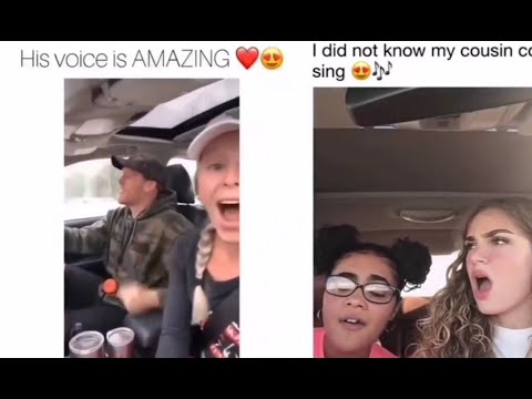 Sister Sings Infront Of Brother Compilation Tik-Tok__The most beautiful voice😘!UNBELIEVABLE!!
