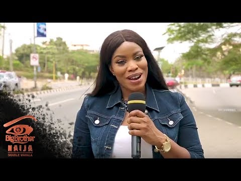 Ese speaks to Lagosians about Big Brother.