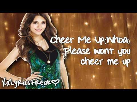 Tekst piosenki Victoria Justice - Cheer Me Up po polsku