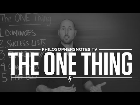 The One Thing by Gary Keller and Jay Papasan
