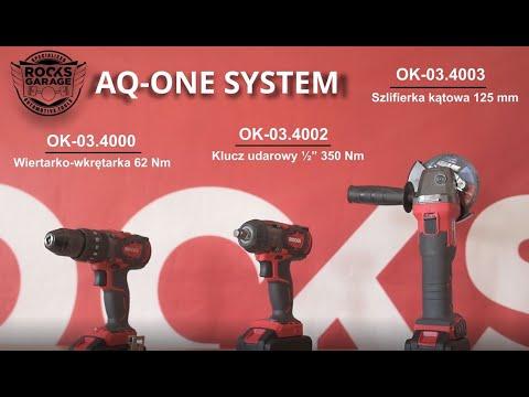 Elektronarzędzia ROOKS AQ ONE SYSTEM z silnikiem bezszczotkowym do zadań profesjonalnych
