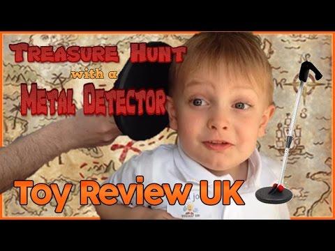 Metal Detector Treasure Hunt - Toy Review UK