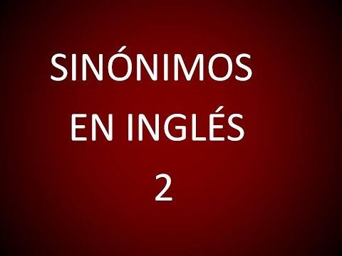Inglés Americano - Sinónimos 2 (Lección 210)