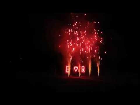 Feuerwerk Hotel Teikyo 01.08.14