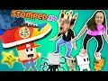 Download Video FGTEEV STOMPS on LITTLE PEOPLE! Super Mario Wario King! Daddy Daughter Destruction Duo in STOMPED.io