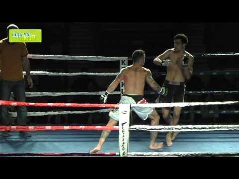Velada Anaitasuna kickboxing combate 1 cámara lenta