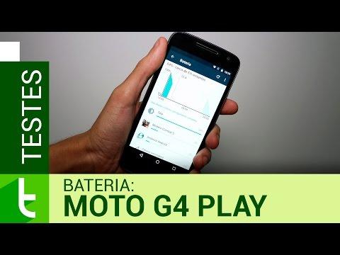 Autonomia do Moto G4 Play  Teste oficial de bateria do TudoCelular