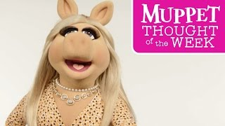 Every Monday, The Muppets are bringing you their wise, informative, and downright hilarious Thought of the Week. Today, Miss Piggy makes a bold and stylish statement.Subscribe for all new videos from The Muppets! ► http://di.sn/6002BJA1nWatch more of the best moments, music videos, and laughs from The Muppets! ► http://di.sn/6007BJ79RGet more from The Muppets!Disney: http://disney.com/muppetsFacebook: https://www.facebook.com/MuppetsTwitter: https://twitter.com/TheMuppetsInstagram: http://www.instagram.com/themuppetsWelcome to the Official YouTube channel for The Muppets! This channel is home to your beloved group of Muppet friends: Kermit the Frog, Miss Piggy, Fozzie Bear, Gonzo the Great, Animal, Beaker, The Swedish Chef, and more! Subscribe for some of your favorite and best film and television clips from The Muppets, as well as music covers and brand new comedy sketches.Check out exclusive Muppet parodies, Muppet music videos, Muppet song covers, comedy sketches, and more! Join in the fun with original Muppet comedy shows, TV promos, and charity PSAs.