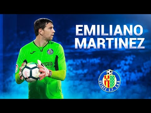 Emiliano Martinez ● Saves, Catches & Passes - 2017/2018 ● Getafe CF