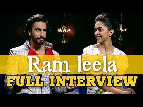 Ranveer on his 'Ram Leela' experience!