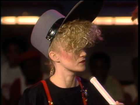 Dick Clark Interviews Thompson Twins - American Bandstand 1983
