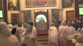Ethiopian Easter Celebration At St. Gabriel Cathedral In Seattle, Washington