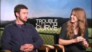 Nonton Trouble With The Curve  2012  Exclusive Amy Adams   Justin Timberlake Interview Film Subtitle Indonesia Streaming Movie Download