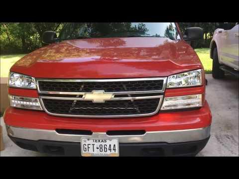 2006 Chevrolet Silverado Lighting Upgrade Part 1: New Headlights & LED Parking Lights